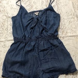 Mossimo Chambray Large Romper